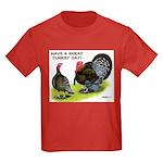 Turkey Day Kids Dark T-Shirt