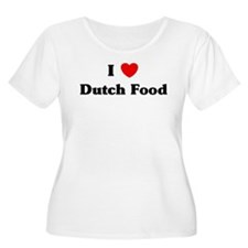I love Dutch Food T-Shirt