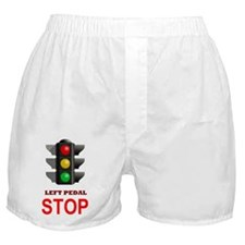 Traffic Light Stop Boxer Shorts