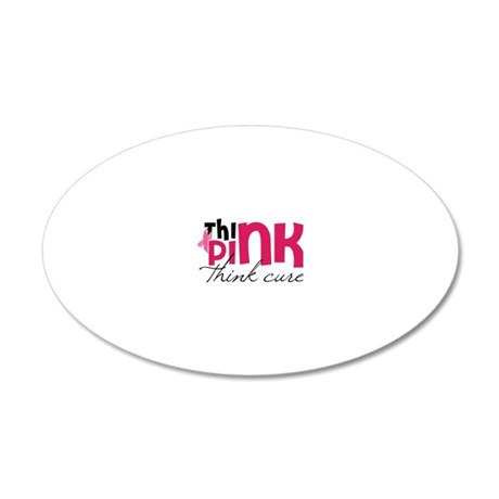 Think Cure 20x12 Oval Wall Decal