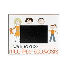 Walk To Cure Picture Frame