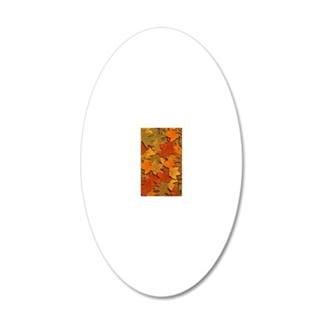 INCREDIBLE 20x12 Oval Wall Decal