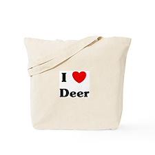 I love Deer Tote Bag