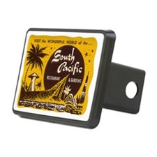 South Pacific Tiki Bar Rectangular Hitch Cover