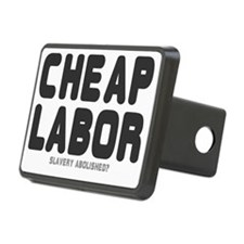 CHEAP LABOR - SLAVERY ABOL Hitch Cover