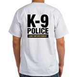 k-9 Dog Handler T-Shirt Police Cop