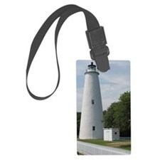 Ocracoke, North Carolina Lightho Luggage Tag