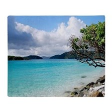 Cinnamon Bay, St. John VI Throw Blanket