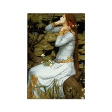 Waterhouse Ophelia Rectangle Magnet