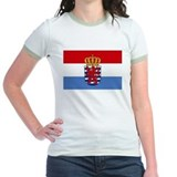 Luxembourg w/ coat of arms Ringer T-shirt