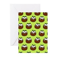 'Puddings' Greeting Cards (Pk of 10)