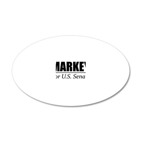 Edward Markey for United Sta 20x12 Oval Wall Decal