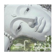 In the Garden - Qua... Tile Coaster