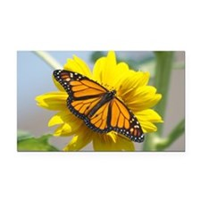 Monarch Butterfly PC Rectangle Car Magnet