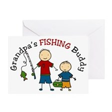 Fishing Buddy Greeting Card
