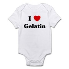 I love Gelatin Infant Bodysuit