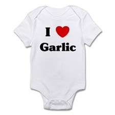 I love Garlic Infant Bodysuit
