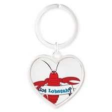 Got Lobstah Heart Keychain
