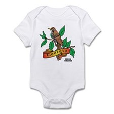 Georgia Brown Thrasher Infant Bodysuit