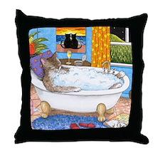 cat 567 Throw Pillow