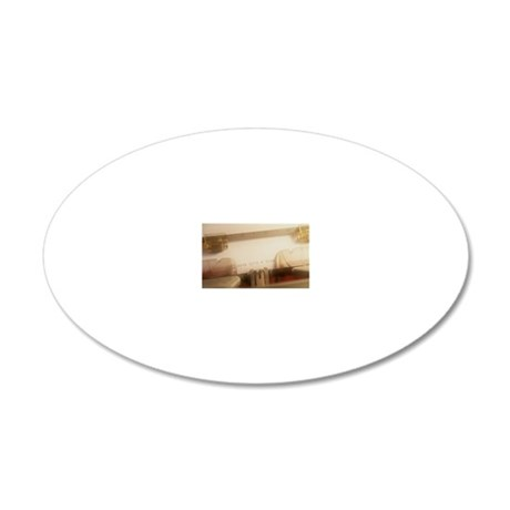 photographz 20x12 Oval Wall Decal