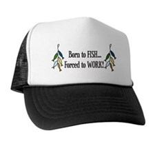 Born To Fish Trucker Hat