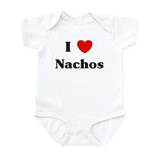 I love Nachos Infant Bodysuit