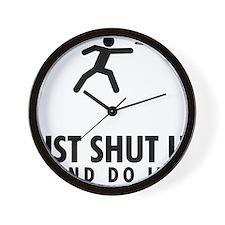 Frisbee-AAU1 Wall Clock