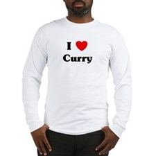 I love Curry Long Sleeve T-Shirt