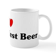I love Oktoberfest Beer Mug