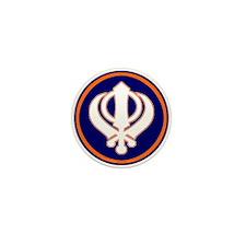 Khalsa Pride Mini Button (10 pack)