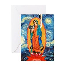 CrossFit Lady of Guadalupe Greeting Card