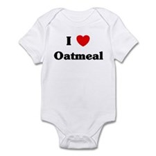 I love Oatmeal Infant Bodysuit