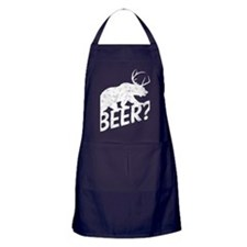 The Bear Deer Beer Apron (dark)