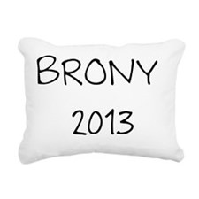 Brony 2013 Rectangular Canvas Pillow