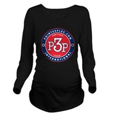 Paris, France Long Sleeve Maternity T-Shirt