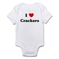 I love Crackers Infant Bodysuit