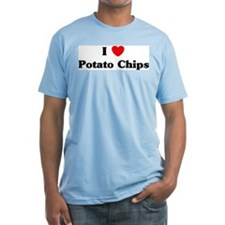 I love Potato Chips Shirt