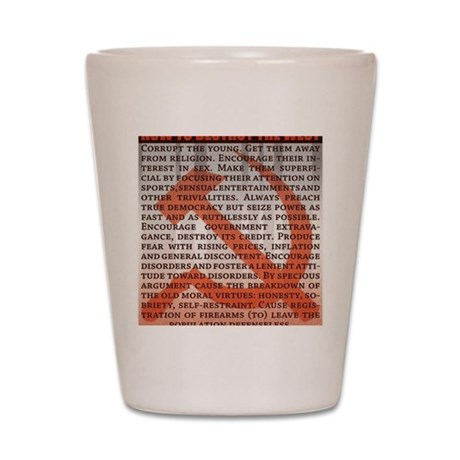 Communism Shot Glass