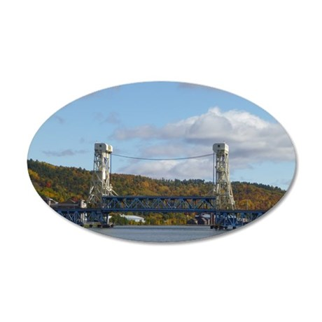 Portage Lake Bridge Wall Decal