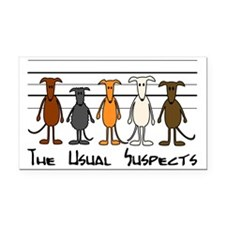 The usual suspects Rectangle Car Magnet