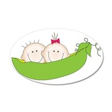 Peas In A Pod Wall Decal