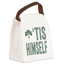 Tis Himself Canvas Lunch Bag