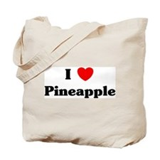 I love Pineapple Tote Bag