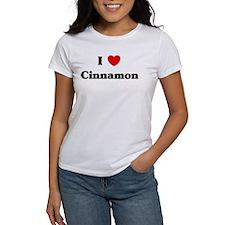 I love Cinnamon Tee