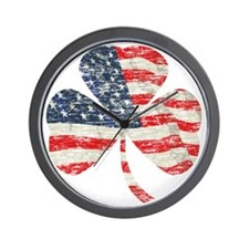 Irish-American Wall Clock