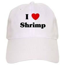 I love Shrimp Baseball Cap
