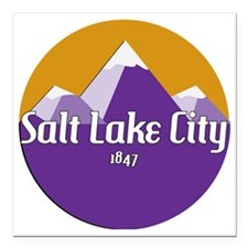 "SLC Design Square Car Magnet 3"" x 3"""