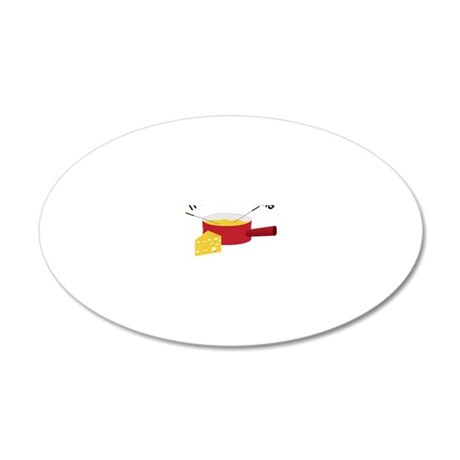 A Swiss Thing 20x12 Oval Wall Decal