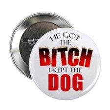 Dog Divorce Settlement Button